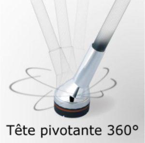 Canne Dr Cane à tête pivotante à 360°