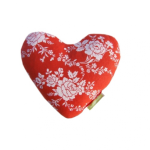 Bouillotte coeur rouge