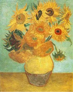 Les tournesols Van Gogh