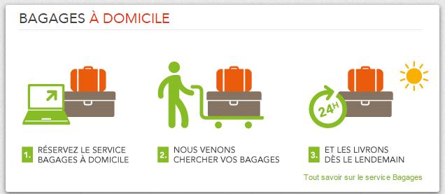 bagages a domicile SNCF