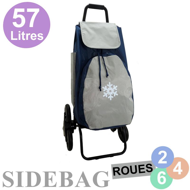 Chariot-de-course-Trio-Domio-isotherme-bleu