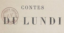 Contes du lundi_Alphonse Daudet_couverture_etiquette
